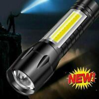 Outdoor LED Taschenlampe USB wiederaufladbare Taschenlampe Police Camping Zoom