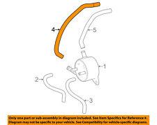 TOYOTA OEM 13-18 RAV4 2.5L-L4 Transmission Oil Cooler-By-pass hose 1629636010