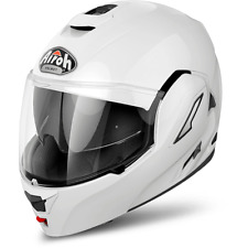 Casco modulare moto Airoh Rev bianco taglia S convertibile reversibile