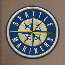 NEW 4 INCH SEATTLE MARINERS IRON ON PATCH FREE SHIPPING P1