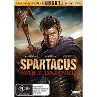 SPARTACUS WAR OF THE DAMNED BLU RAY Like New