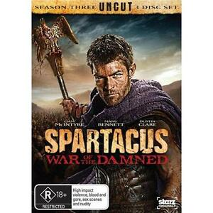 SPARTACUS: War Of The Damned : SEASON 3 : NEW DVD