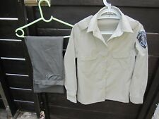 ISRAEL POLICE - BORDER GUARD WOMAN SOLDIER S UNIFORM SET W/ ORG. SIGNS & PATCH !