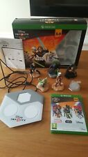 Disney Infinity 3.0 Xbox One Starter Pack Star Wars Plus Extra Figures with box