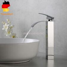 Hoch Waschtischarmatur Kaltwasserhahn Bad Waschbecken Armatur Chrom Ein Griff DE