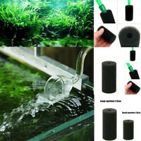 2/10x Aquarium Fish Tank Bio Foam Sponge Filter Breeding Fry Filtration Reusable