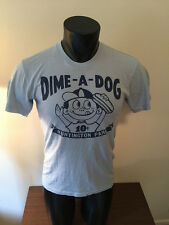 Homage Columbus Clippers Dime A Dog Huntington Park MILB Shirt Adult Small