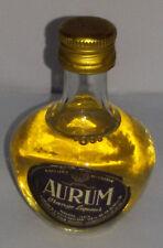 Mignon AURUM Orange liqueur Sigillata con tappo in metallo  39 gradi  cc 25