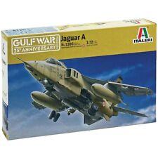 Italeri 1/72 Sepecat Jaguar A Gulf War Plastic Model Kit 1386