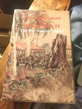 The Campaigns Of WWII The War Against Japan  25 Different Boooklets  USGPO