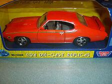 Motor Max Country Kids 1969 Pontiac GTO Judge ORANGE 1/24 NEW