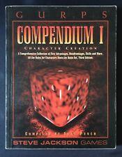 GURPS compendio 1 I un carácter creación-Steve Jackson Games