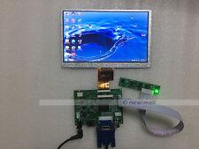7 inch LED LCD panel HDMI+VGA+2AV Driver Board Kit 1024x600 for Raspberry Pi