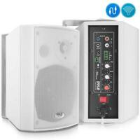 Pyle-Home PDWR53BTWT Pair 5.25''inch. Bluetooth Wall Mount Speaker System.