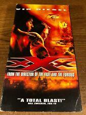 xXx Vhs Used Movie Vcr Video Tape Vin Diesel