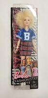 Barbie Fashionistas Varsity Barbie Doll 91 Mattel 2017 FJF51 with white Afro NEW