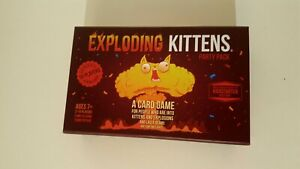 Exploding Kittens Party Pack Card Game 2-10 Players