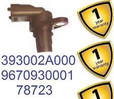 Kia Cee'd Cerato Picanto Rio Hyundai Crankshaft Sensor 393002A000 78723