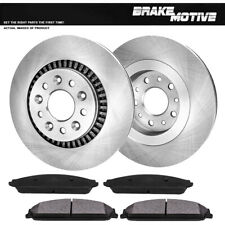 Front Brake Rotors Metallic Pads For Five Hundred Freestyle Taurus Montego Sable