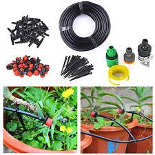25m Micro Drip Irrigation System Kit DIY Plant Self Watering Garden Hose ATGFS