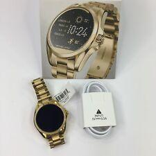 MICHAEL KORS Access Digital Bradshaw Gold Tone Stainless Smartwatch Touchscreen