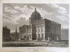 1808 Print  Liverpool Town Hall