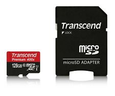 TRANSCEND Premium Micro SDXC 128GB Class10 UHS-I 400x Memory Card - Tracking