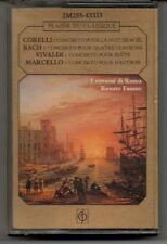 Cassette audio CORELLI BACH  VIVALDI MARCELLO Rénato Fasano
