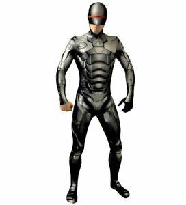 Marvel Robocop Morphsuit Fancy Dress Superhero Funny Adult Men's Large