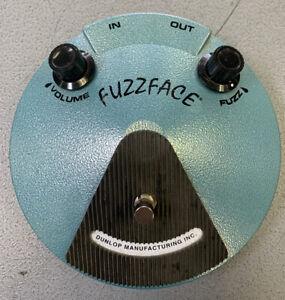 Dunlop Jimi Hendrix Fuzz Face Guitar Effects Pedal JH-F1