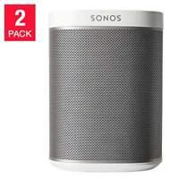 Sonos Play:1 Wi-Fi Speaker - White, 2-pack