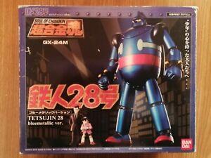 BANDAI GX-24M SUPER ROBOT TETSUJIN 28 Blue Metallic Version