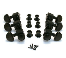 Grover Black Roto-Grip Locking Guitar Tuners for Gibson Les Paul SG® 502BC
