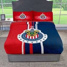 Chivas Guadalajara Soccer Fleece Futbol Blanket Comforter Twin Full 1Pc Logo Boy