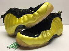 Nike Air Foamposite One Electrolime Galaxy Stealth Metallic Red Sz 12 DS