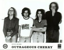Outrageous Cherry Band Promo Photo Detroit Original 90s Stereo Action Rent Party