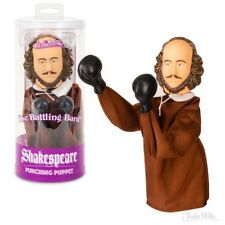 Shakespeare Punching Puppet - Novelty Fun Gag Gifts