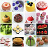 Round Silicone Mould DIY Baking Tools Chocolate Pudding Mousse Cake Bakeware NEW
