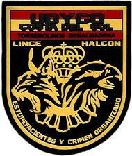 POLICIA NACIONAL CNP UDYCO COSTA DEL SOL HALCON LINCE PARCHE INSIGNIA EB01484