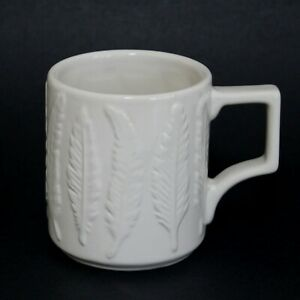 Patch NYC for Target Ceramic Feather Mug Cup 12 oz