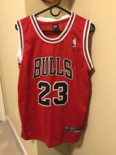 100% Authentic NIKE Michael Jordan Chicago Bulls Red #23 Jersey Size 44 Large L