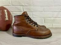 """Men's Red Wing """"Beckman"""" 9016 Heritage Boots Cigar Leather Size 9 1/2 D Made USA"""