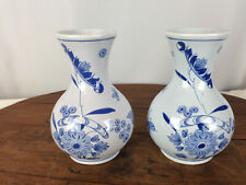 Precise Vintage Delft Blue Holland Dutch Tea Light Children Holding Hands Pottery & China