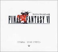 FINAL FANTASY VI Original Sound Version PSCN-5001~3 Japanese Game Music 3 CD BOX