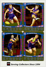 2011 AFL Teamcoach Trading Cards Gold Parallel Team Set Western Bulldogs (11)