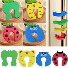 10* Children Safety Claw Handle Cartoon Hand Door Clip Stopper Animal Stopper