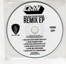 (GI402) Caan, Now Hear This My Friends (Remix EP) - DJ CD