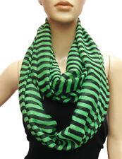 Loop Wide Hoop Long Infinity Scarf Spring Fall Summer Striped Fashion Zebra NEW