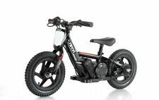 "Black Revvi 12"" electric kids bike motorbike motorcycle 24v battery powered"