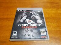 Fight Night Champion (Sony PlayStation 3, 2011) PS3 Complete CIB TESTED